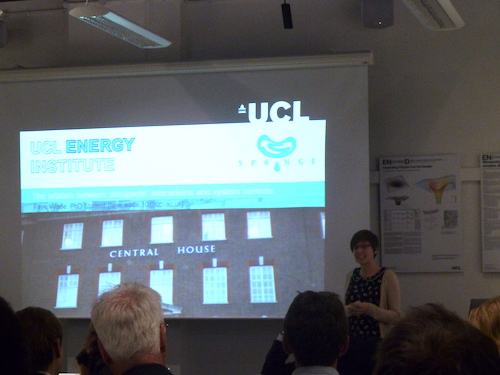 UCL-Energy students host SPONGE workshop