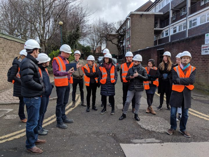 LoLo students visit one of Melius Homes' live construction sites in the city of Nottingham