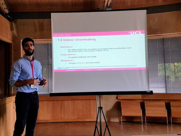 LoLo students presenting at the Building Simulation and Optimisation Conference in Cambridge