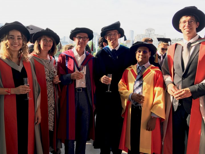 Congratulations to UCL Energy LoLo CDT PhD graduates who attended UCL Graduation Ceremony 2018