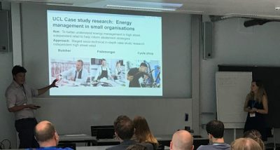 LoLo Student David Kenington presents at Behave conference 2018 in Zurich