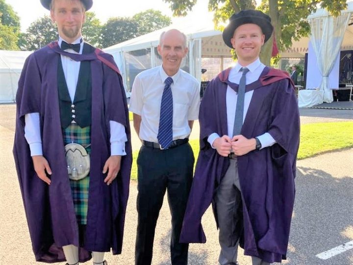 Graduation of two LoLo Loughborough students